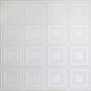 Faux Tin Ceiling Tile - 24 in x 24 in - #DCT 0204