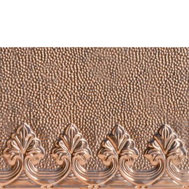 Majestic Finials - Copper Backsplash Tile - #2444