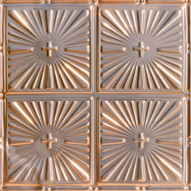 Inspiration - Copper Ceiling Tile - 24 in x 24 in - #1213
