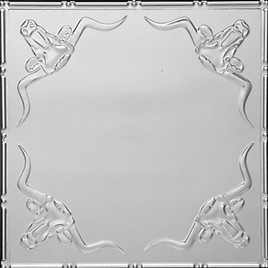 "Longhorn - Tin Ceiling Tile - 24""x24"" -  #2426"