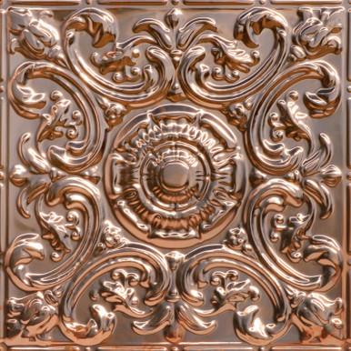 Al Fresco - Copper Ceiling Tile - 24 in x 24 in - #2414