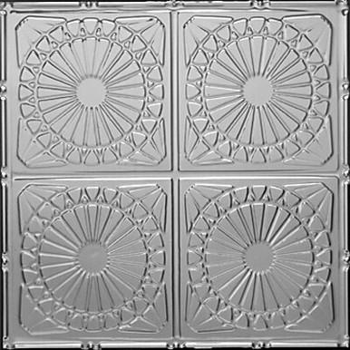 """Dreamscape - Tin Ceiling Tile - 24""""x24"""" - #1203"""