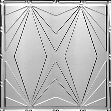 Art Deco Triangles - Tin Ceiling Tile - #2403