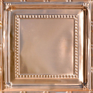 General Store - Copper Ceiling Tile - 24 in x 24 in - #2411