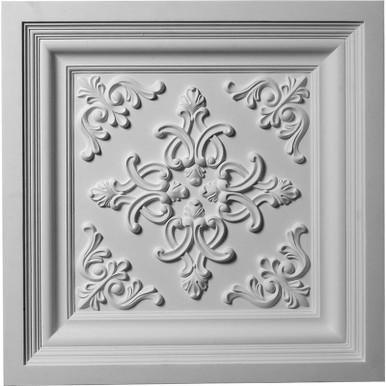 "Kinsley - Urethane Ceiling Tile - 24""x24"" -  #CT24X24KI"