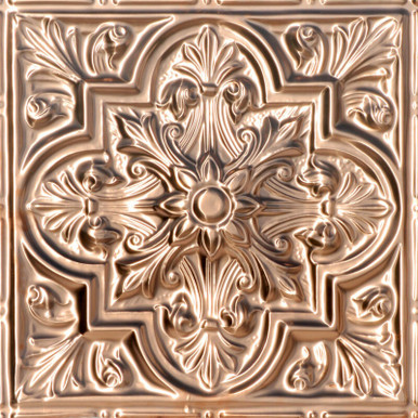 Tuscan Glory - Copper Ceiling Tile - 24 in x 24 in - #2438