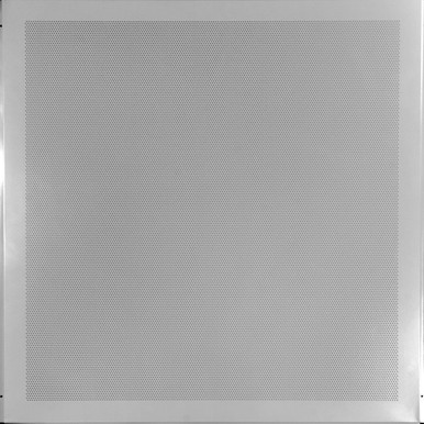 Micro Perforated Acoustical Aluminum Ceiling Tile w/Soundtex - #MPA-1