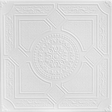 Kensington Gardens Styrofoam Ceiling Tile 20 in x 20 in - #R30