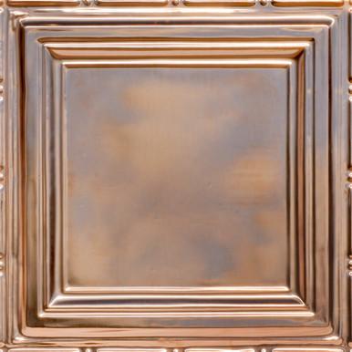 Union Square - Copper Ceiling Tile - 24 in x 24 in - #2429
