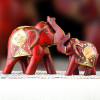 Handmade Wooden Elephants Set- FOR AUSTRALIA