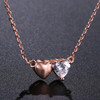 Two Hearts Pendent Necklace - For Australia