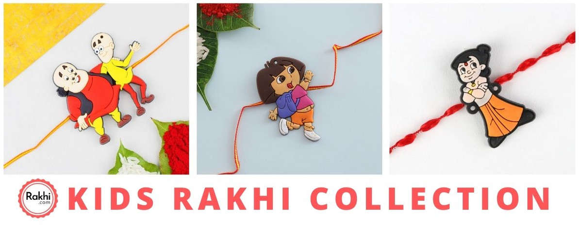 Where to find the best kids Rakhi collection?