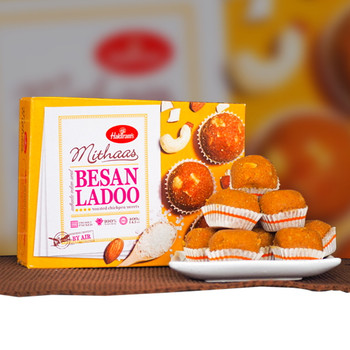 Delicious Besan Ladoo 400gm - FOR AUSTRALIA