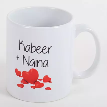 Couple Love Forever Personalized Mug