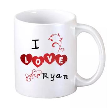 """I Love You """"Name"""" Mug"""