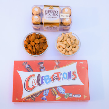 Dry Fruits & Chocolate Combo   - FOR AUSTRALIA