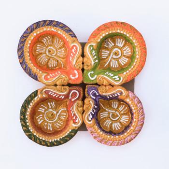 Traditional Diya Set For Diwali  - FOR AUSTRALIA