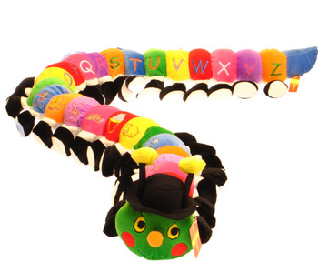 ABCD Multi color Caterpillar for Baby 140cm