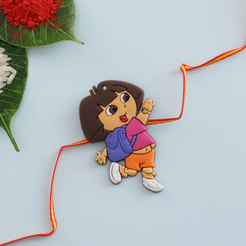 "1 Kid Girl Rakhi ""Dora Dora"" - FOR AUSTRALIA"
