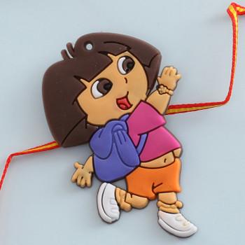 Dora Dora Kids Rakhi -For Australia