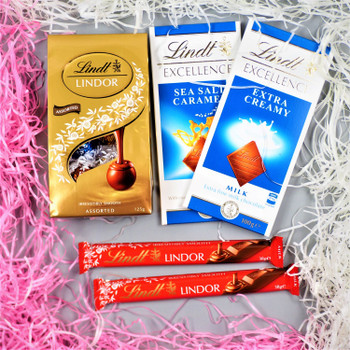Lindt Chocolates Hamper - FOR AUSTRALIA
