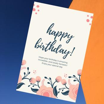 Happy Birthday Greeting Card - FOR AUSTRALIA
