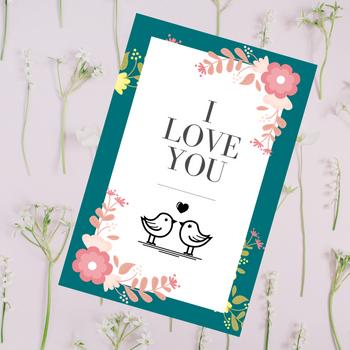 I Love You Greeting Card - FOR AUSTRALIA