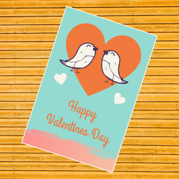 Valentines Days Greeting Card - FOR AUSTRALIA
