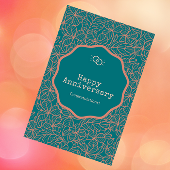 Anniversary Card Greeting Card - FOR AUSTRALIA