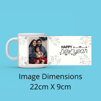 Happy New Year Personalised Mug Personalised Mug