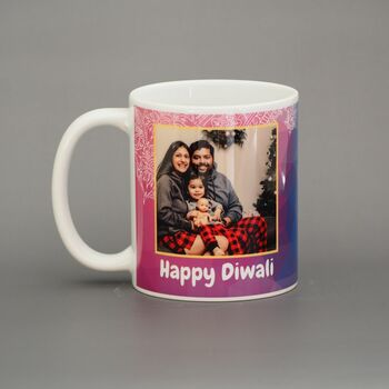 Happy Diwali Family Personalised Mug Personalised Mug