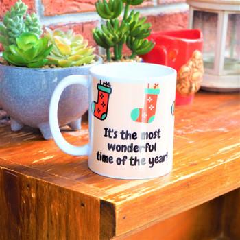 Personalised Mug -Marry  Christmas