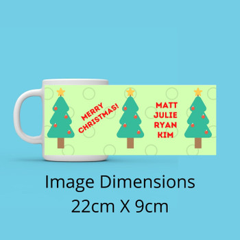magical Little Christmas Personalised Mug
