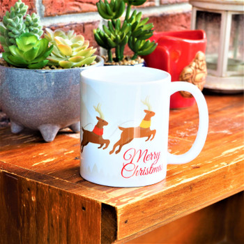 HO HO HO Christmas Personalised Mug