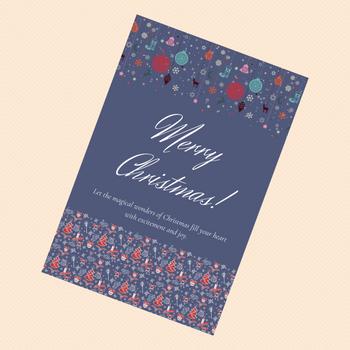 Christmas Greeting Card - FOR AUSTRALIA