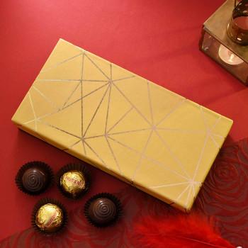 Golden Chocolates Hamper - FOR INDIA