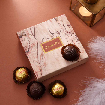 Favorite Four Chocolates Pack - FOR INDIA