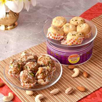 Send Delicious Laddus Online Anywhere In India with Rakhi.com