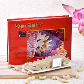 Send Delicious Kaju Barfi Online Anywhere In India with Rakhi.com