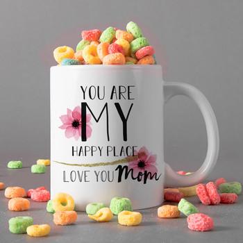 Love You Mum Personalised Mug