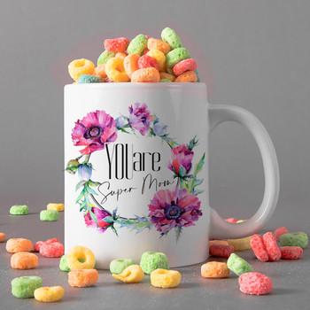 Super Mum Personalised Mug
