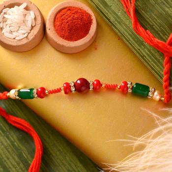 Traditional Gujarati Rakhi for India