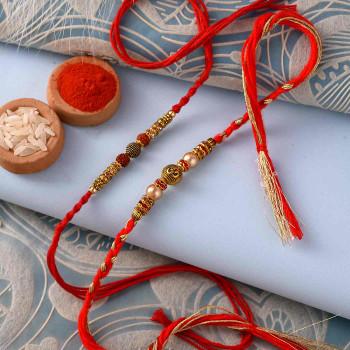 Two Royal Rakhi Set for India