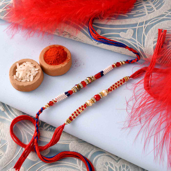 Two Beautiful Rakhi for India