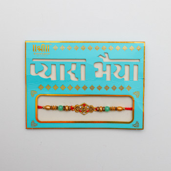 Ganesha Premium Rakhi -For Australia