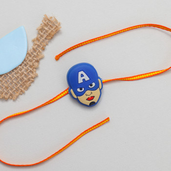 Caption America is a famous Avenger, If your brother is avenger fan he will love to have an Avenger Rakhi.