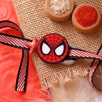 Spiderman Kids Cartoon Rakhi - For India