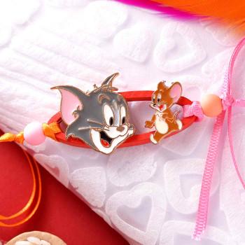 Tom & Jerry Kids Cartoon Rakhi -For India