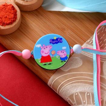 Peppa Piggy Kids Cartoon Rakhi