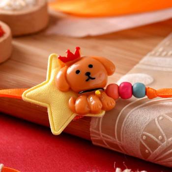 Cute Puppy Kids Cartoon Rakhi
